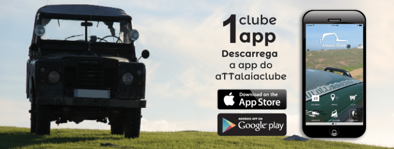 Criação da app attalaiaclube